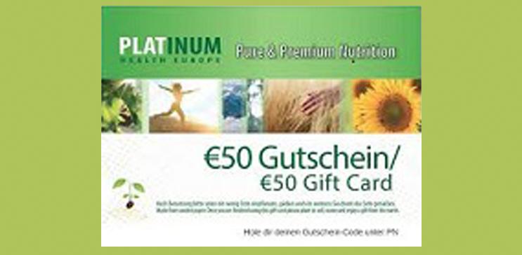 € 50 Gutschein von Platinum